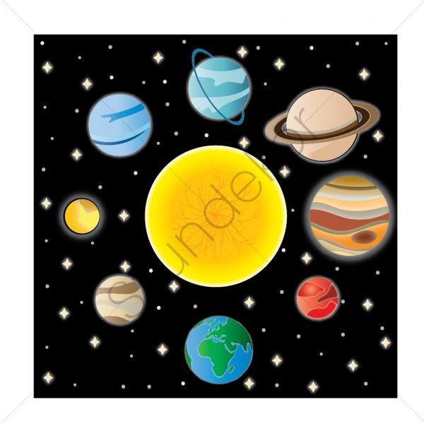 Bolygók négyzet alakban