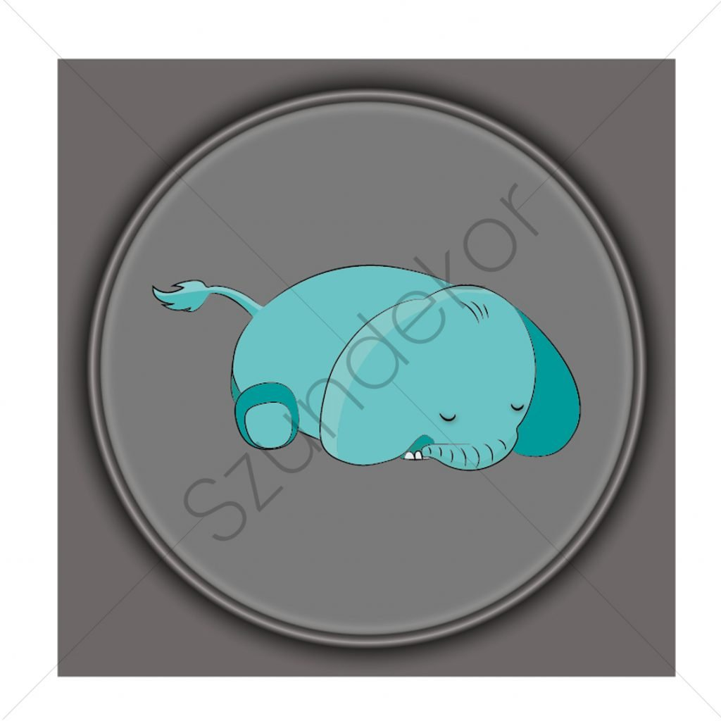 Alvó elefánt
