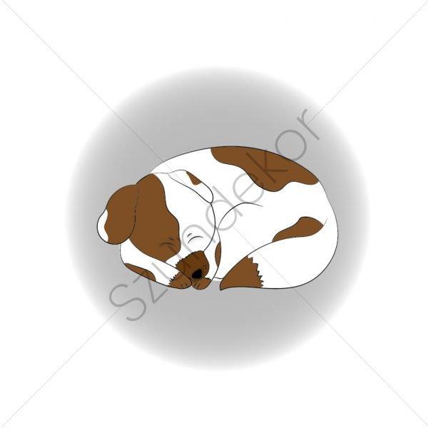 Alvó kutya