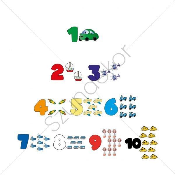 1-10 járművek