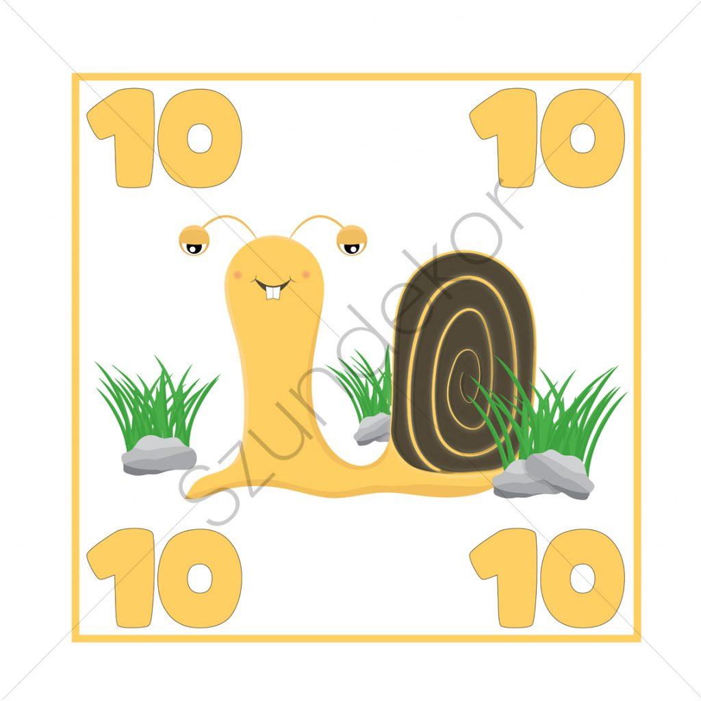 10 - csiga (Ugróiskola)