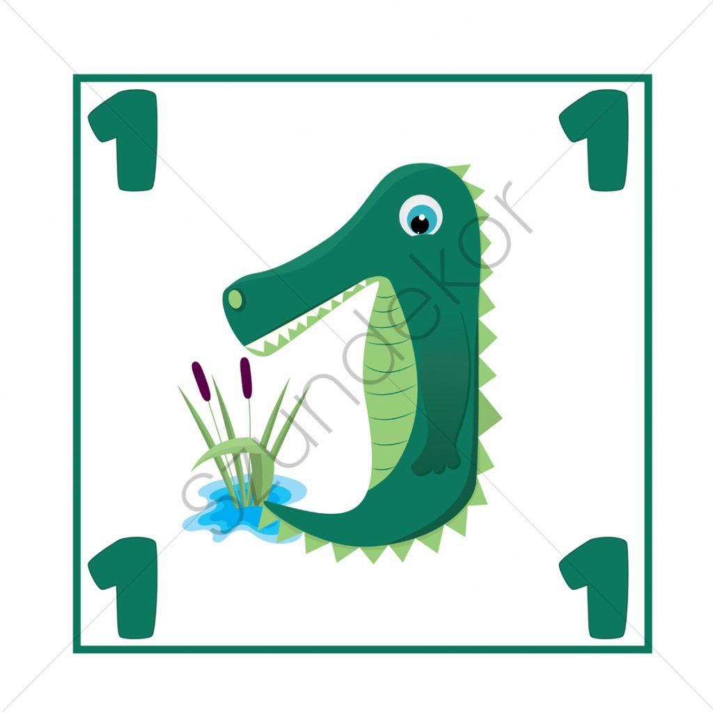 1 - krokodil (Ugróiskola)