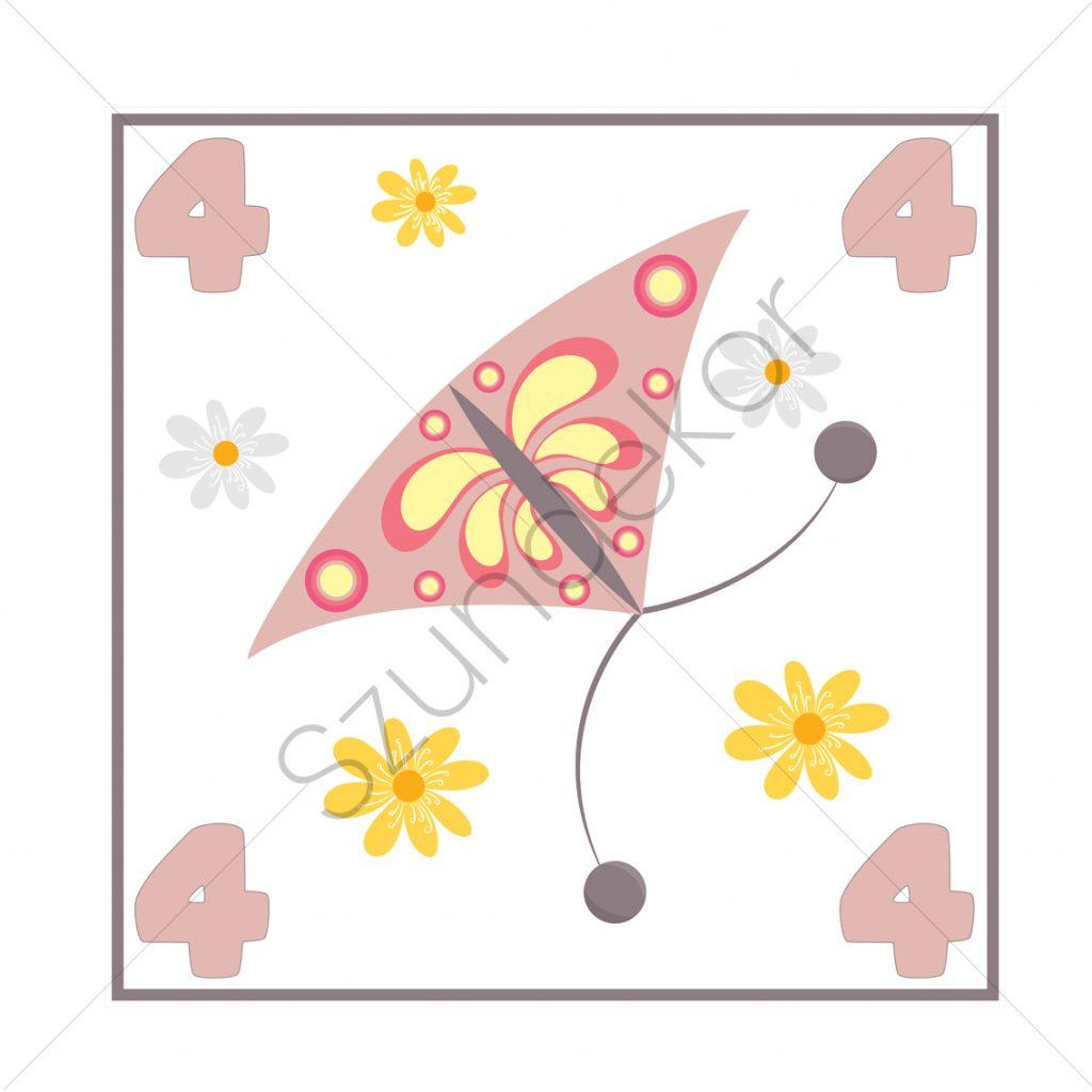 4 - pillangó (Ugróiskola)