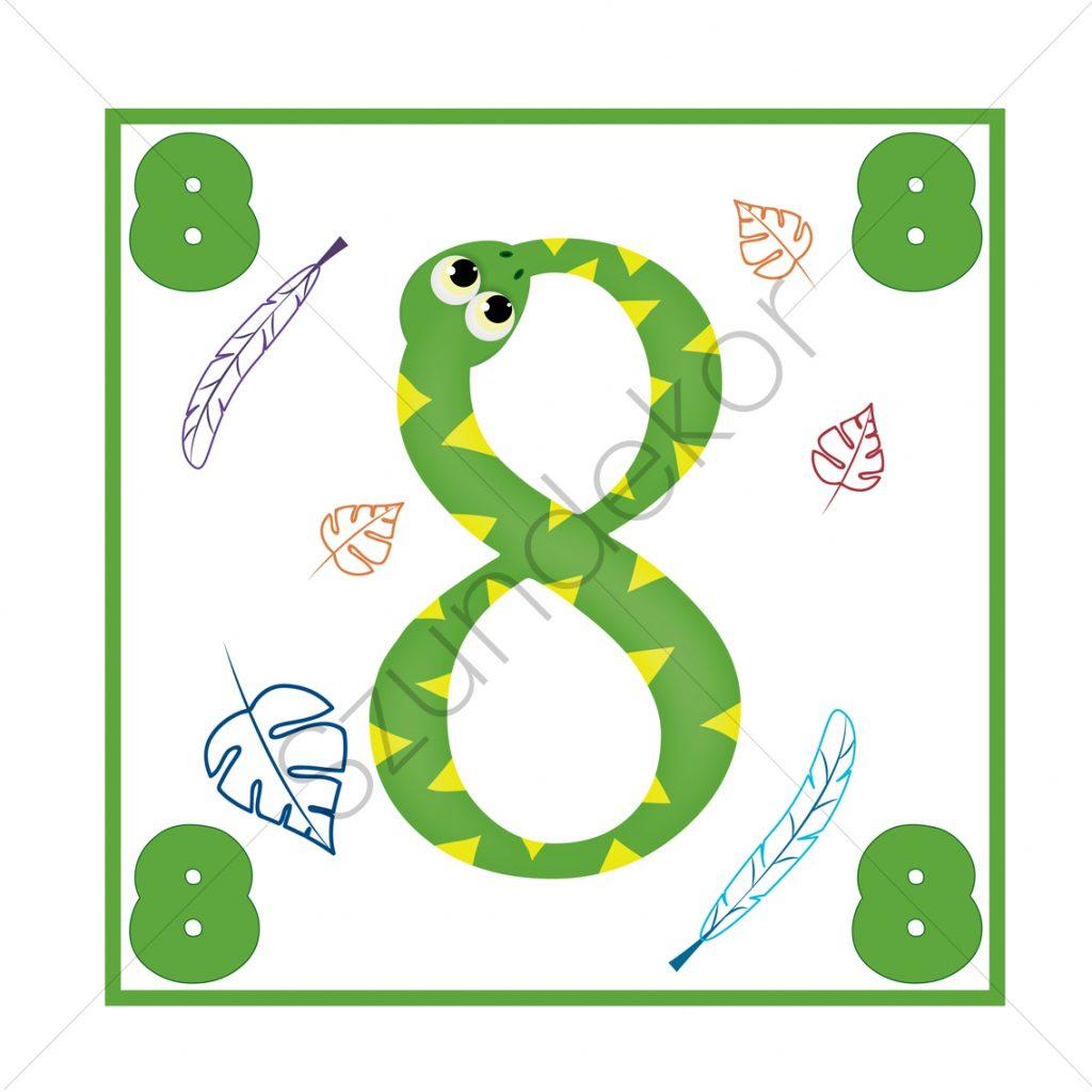 8 - kígyó (Ugróiskola)