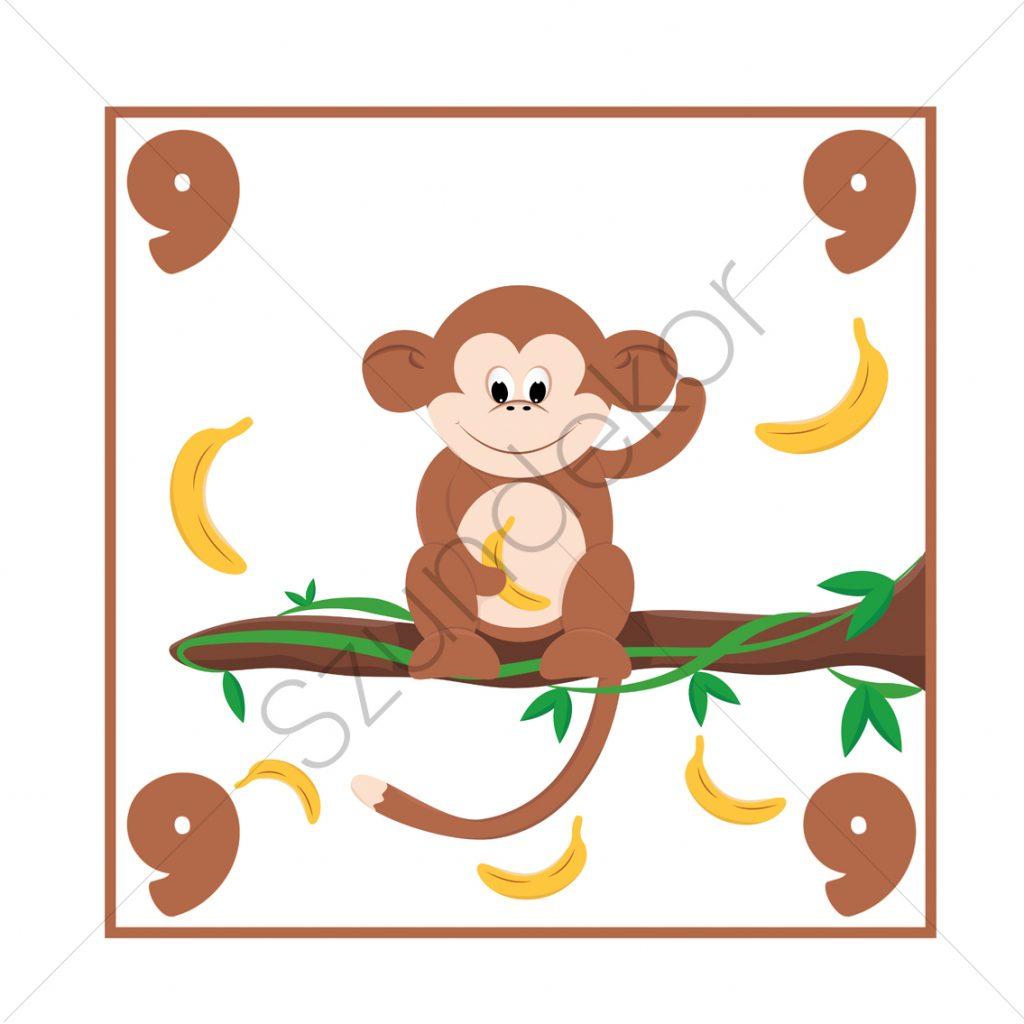 9 - majom (Ugróiskola)